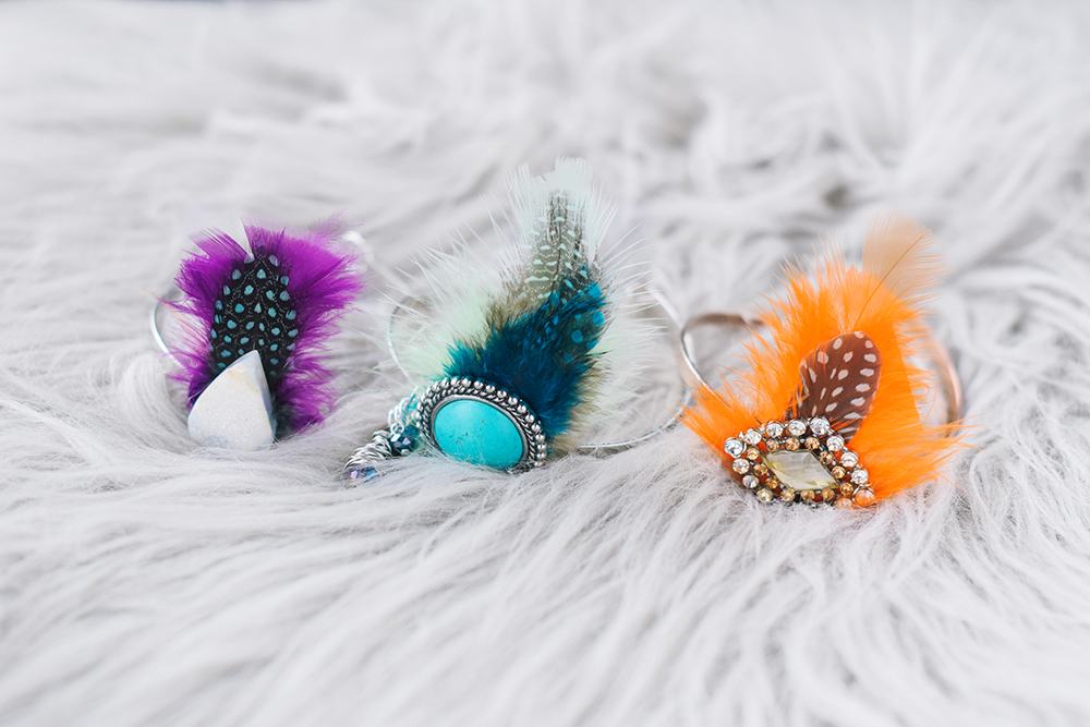Hair Bun Cuffs - Quiet Lion Creations