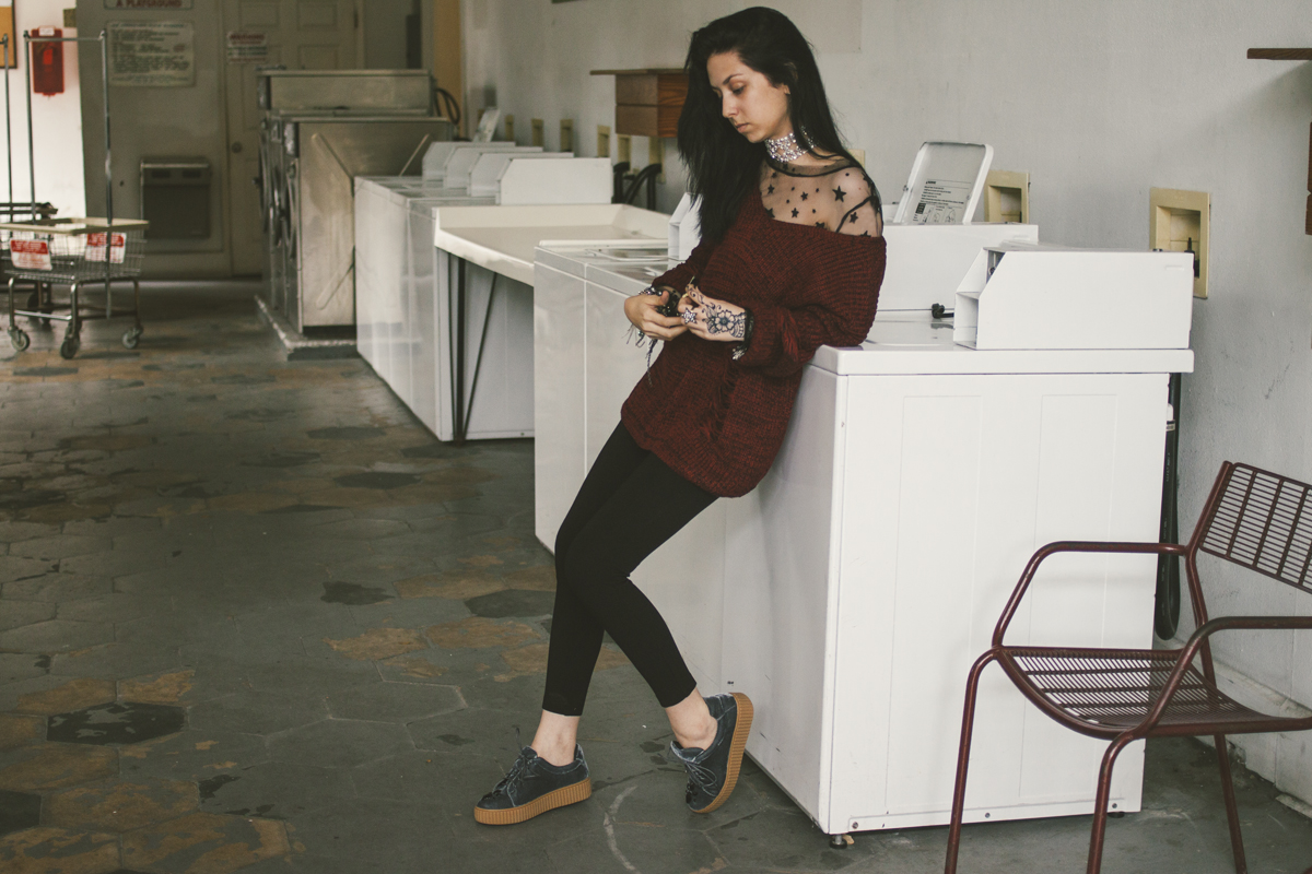 Fashion Lookbook by Allison Beth Cooling Quiet Lion - Photo by Delane Ashley