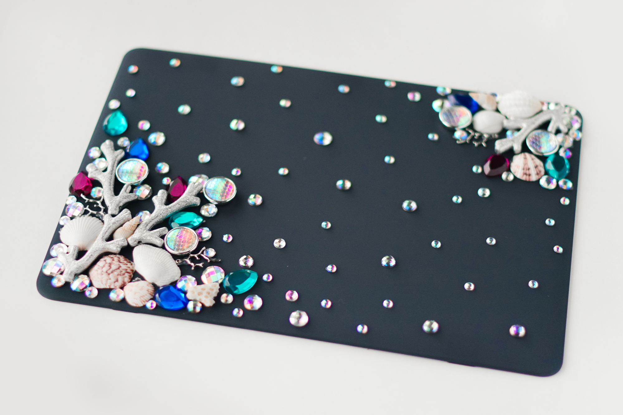 DIY Mermaid Laptop Cover - Quiet Lion Creations