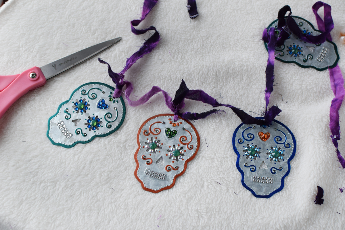 DIY Sugar Skull Garland - Quiet Lion Creations